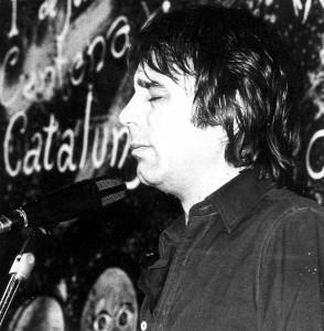 Ovidi Montllor, a l'Escola d'Estiu de 1972