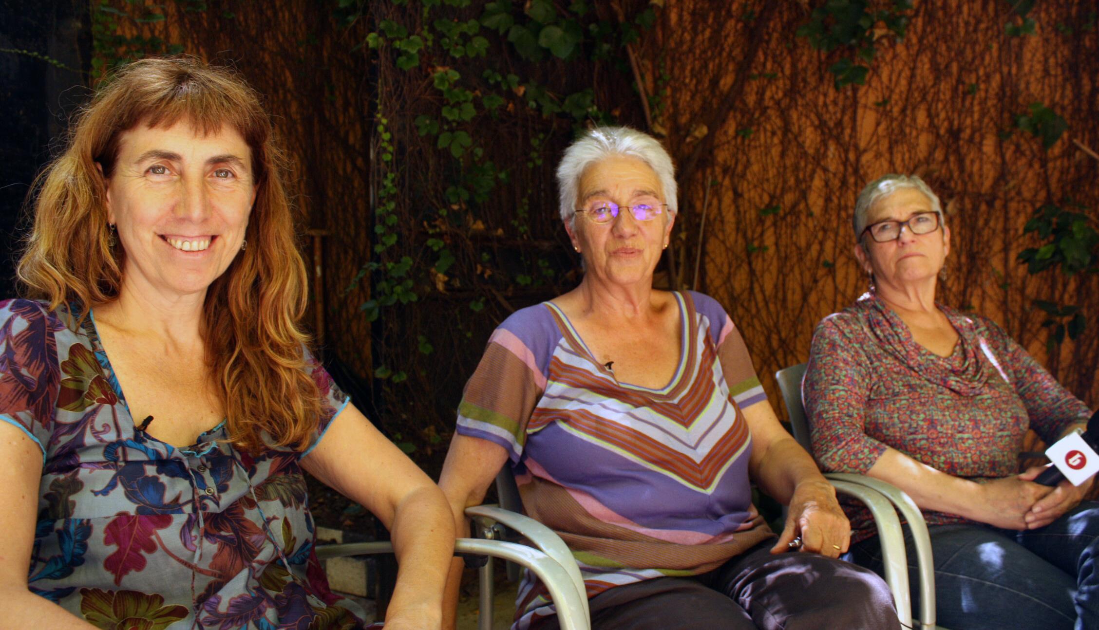 Francina Martí, Irene Balaguer i Maria Vinuesa. / PABLO RAMÍREZ
