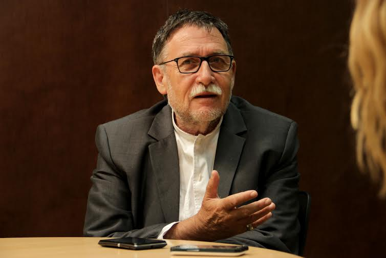 Martí Boada, en un moment de l'entrevista /  Foto: Pablo Ramírez