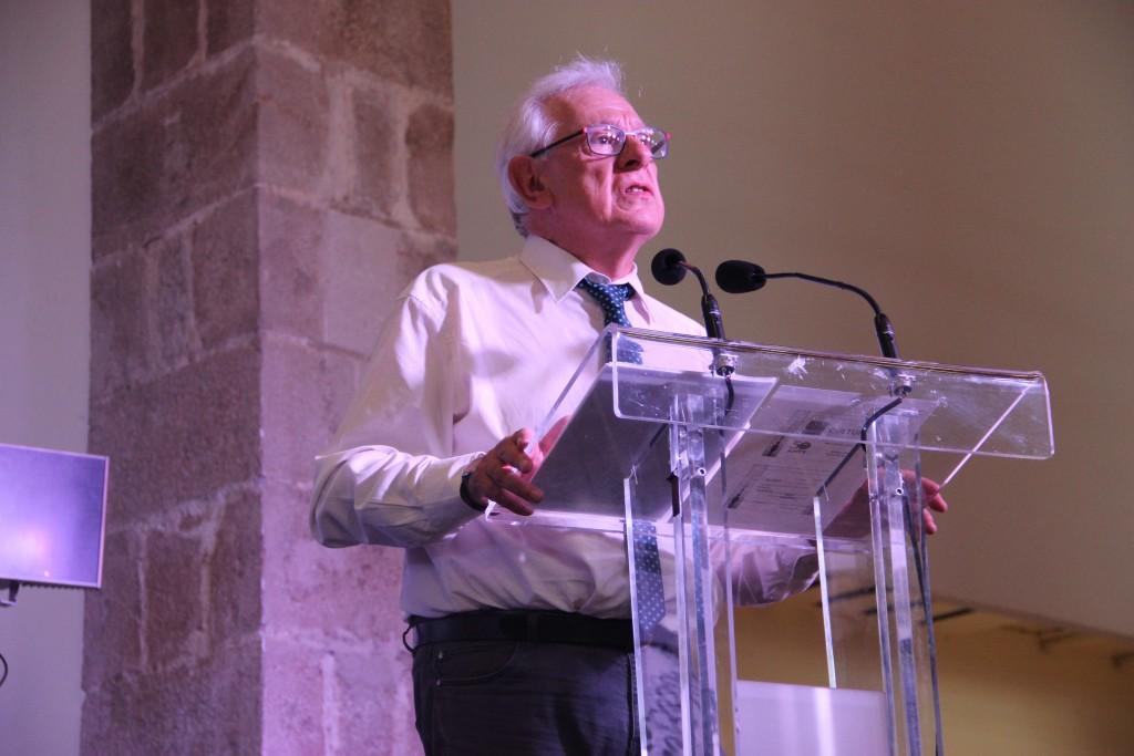 Philippe Meirieu durante su conferencia del pasado miércoles. / Foto: Pablo Ramírez