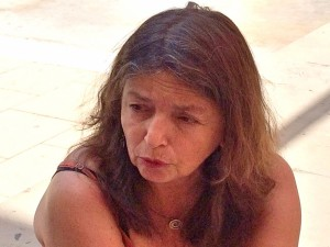 Patricia Redondo durante la entrevista del pasado viernes /Foto: Jordi Navarro